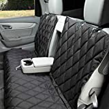 Patented fitted design allows access to all three seat belts, latch anchors, and fold-down seats; regular size measures 54 inches wide; US patent 9,610,877, 9,815,395, 9,878,646 Heavy-duty, colorfast 600D polyester; thick UV-coated straps; durable ny...