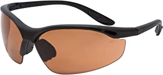 Calabria 91348 Bi-Focal Safety Glasses UV Protection in Copper +1.50