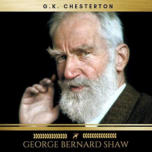 George Bernard Shaw audiobook cover art