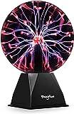 20cm Bola de plasma mágica, Bola luminosa Theefun Bola electrostática Bola de relámpagos sensible al tacto, Juguete educativo parpadeante Física Luz de destello Lámpara de plasma Esfera Efectos de luz