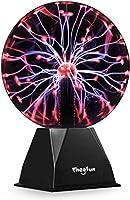 【Berührungs-Aktivierter Plasma Ball】: Ein Teil der Wissenschaft, ein Teil der Magie und alles, was Spaß macht! Diese Plasmakugel reagiert auf Ihre Berührung und sendet Lichtstrahlen aus, wohin auch immer Ihre Fingerspitzen gehen. Begeistern Sie ihr F...