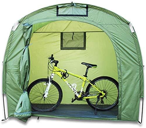 QIBIN Bicicleta de Almacenamiento Carpa cobertizo al Aire Libre Tienda Impermeable Moto Ahorro de Espacio con Bolsa de Transporte for Toda la Temporada de Mal Tiempo Reutilizable
