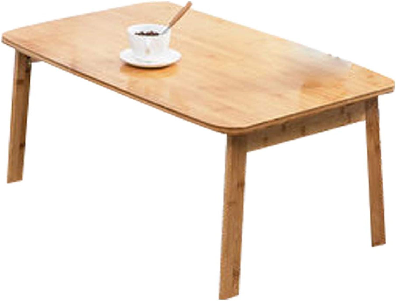 Hai Yan Portable Folding Table Folding Table - Laptop Desk Bed with Foldable Enamel Table Bay Window Small Table Lazy Desk Study - Size  42x70x31cm (color   B)