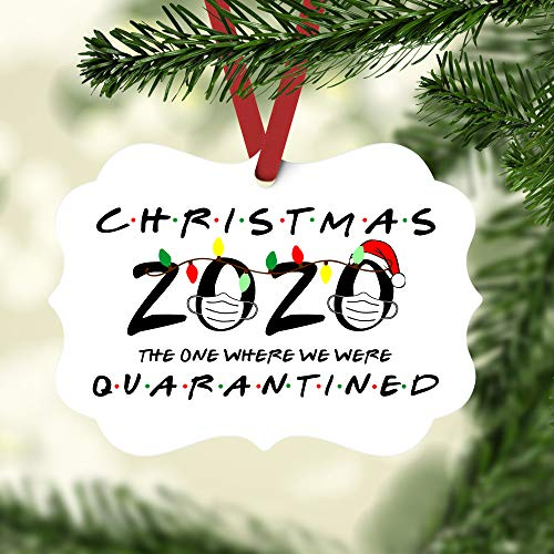 Christmas Ornaments 2020 with Masks | Gifts for Friends | Funny Ornament