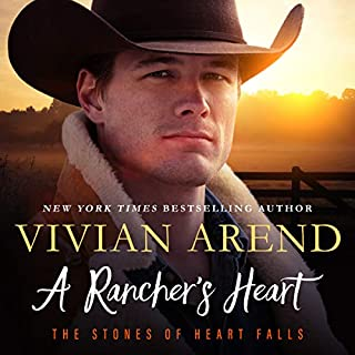 A Rancher's Heart      Heart Falls, Book 1              By:                                                                                                                                 Vivian Arend                               Narrated by:                                                                                                                                 Tatiana Sokolov                      Length: 7 hrs and 30 mins     105 ratings     Overall 4.6