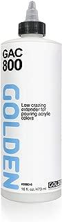 Golden Acrylic Polymer GAC-800 Reduces Crazing - 16 oz Cylinder