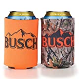 Busch Beer Ale Can Bottle Cooler Logo Neoprene Camo (2)