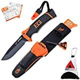 Gerber Bear Grylls Ultimate Pro Knife, Survival Messer, Feuerstarter, Messerschärfer, Signalpfeife...