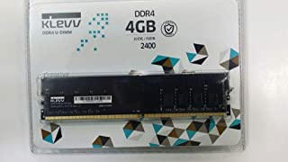 KLEVV DDR4-2400 U-DIMM 4GB 2400MHz 288-pin Desktop Memory(Made in Korea) | IM44GU48N24 - FFFHA0