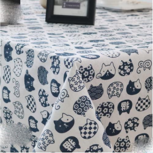 Spedizione gratuita tovaglia nordica in cotone e lino plaid panno arte piccola fresca grata...