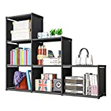 LENTIA Treppenregal DIY Würfelregal Cube Storage Aufbewahrungsregal Standregal Regale Standregal...