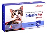 Medfly Healthcare Dewormer for Cats and Kittens - Pack of 4 Tablets