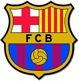 Bhai Please Barcelona Wooden Fridge Magnet (Pack of 1) Football Club Gift and Home Decor