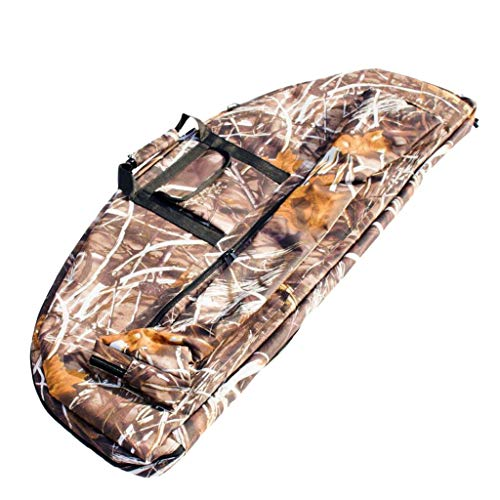 Inzopo Compound-Bogen-Tasche, Tragetasche für Jagd, Outdoor, Schießen, Bogenschießen, Bogen, Rucksack, N00697, camouflage, 115 x 45 x 4cm