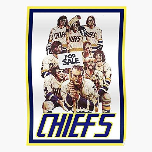 Generic Hansons Paul Shot Ice The Hockey Newman Hollywood Slap Brothers Hanson Chiefs Home Decor Wandkunst drucken Poster !