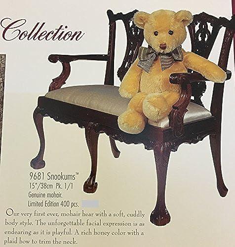 salida para la venta Gund Gund Gund Mohair Collection Snookums 9681 Honey Color 15 Inch Mohair Bear by  en promociones de estadios