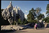 078030 Sibelius Monument Helsinki A4 Photo Poster Print