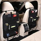 Rganizer Auto, Porta Oggetti Sedile Auto, Proteggi Sedile per Auto per Bambini, Auto Proteggi Impermeabile con Multi Tasca, protezione per seggiolini auto