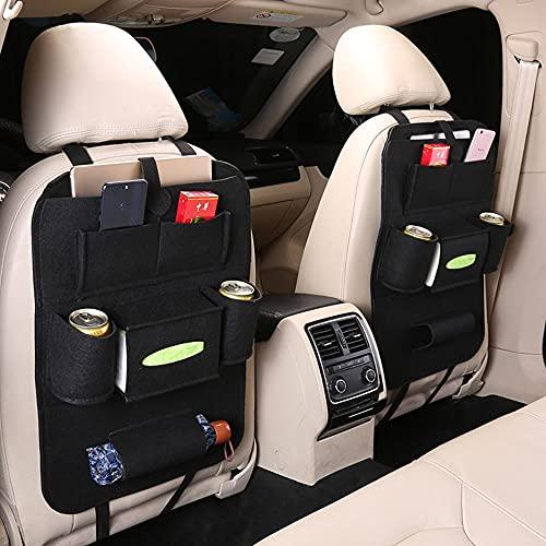 Rganizer Auto, Porta Oggetti Sedile Auto, Proteggi Sedile per Auto per Bambini, Auto Proteggi Impermeabile con Multi Tasca, protezione per...