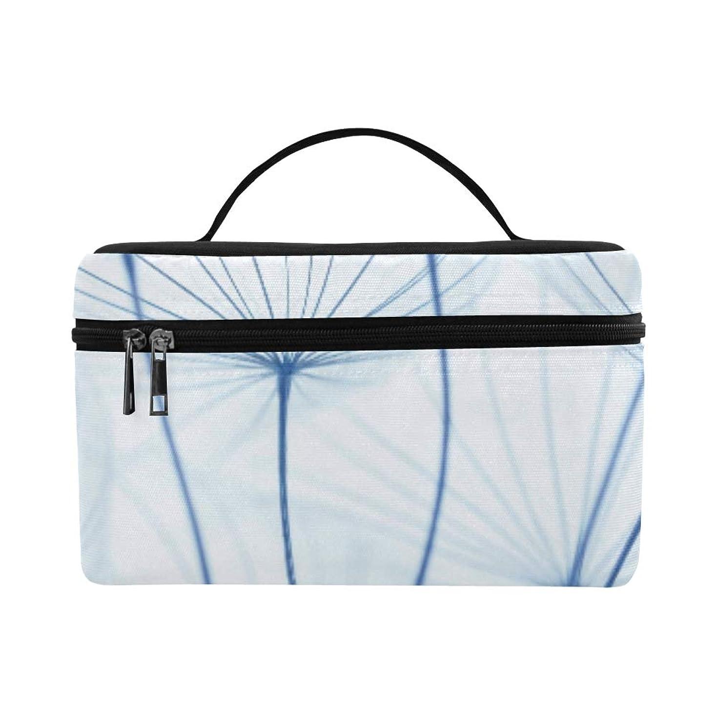 移動するモスホールドオールCFHYJ メイクボックス コスメ収納 化粧品収納ケース 大容量 収納ボックス 化粧品入れ 化粧バッグ 旅行用 メイクブラシバッグ 化粧箱 持ち運び便利 プロ用 植物 たんぽぽ