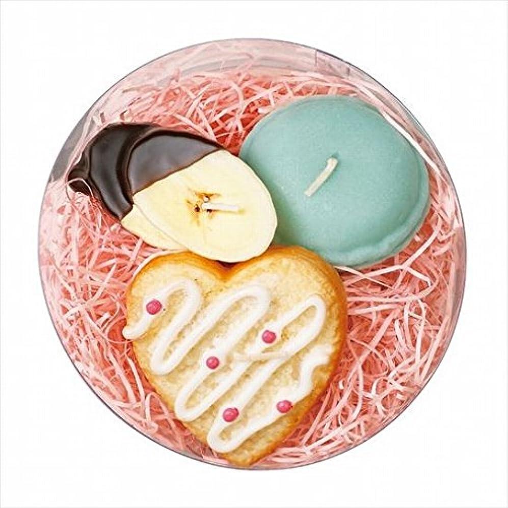 お互い暗殺形式スイーツキャンドル( sweets candle ) プチスイーツキャンドルセット 「 シュガーハート 」 キャンドル