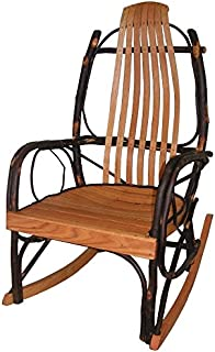amish oak and hickory rocker