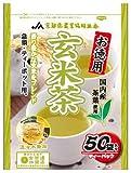 京都茶農業組合 お徳用 国内産 玄米茶ティーパック 3gX50p