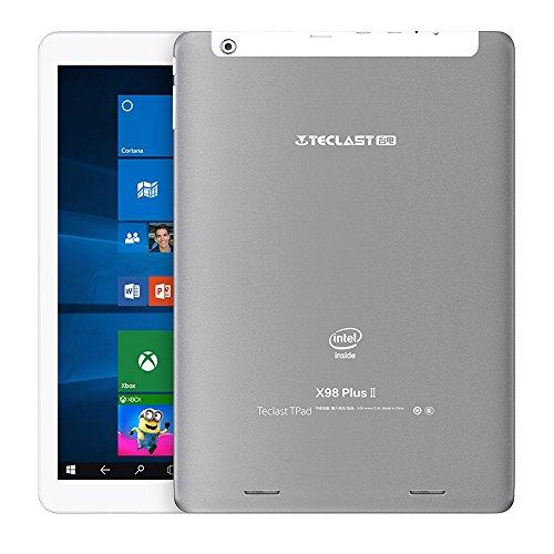 Teclast X98 Plus II Tablet PC Android 5.1 / Windows 10 Casa Cherry Trail X5 1.84GHz 4GB RAM 64GB ROM, 9.7'' 2048*1536 Pixel 4:3 IPS Schermo, Doppi Altoparlanti Stereo.
