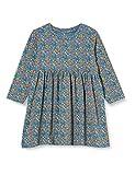 NAME IT Baby-Mädchen Nbfsilke Ls Dress Noos Kinderkleid, Real Teal, 68