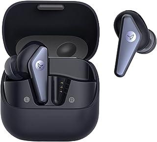 Libratone AIR+ (2. Gen) True Wireless In-Ear Kopfhörer mit Smarter Geräuschunterdrückung (bis zu 24h Akku, ANC, Smart Audio Tuning, Passformtest, IP54, Bluetooth 5.2) schwarz/dunkelblau