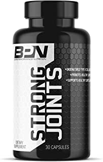 Bare Performance Nutrition, Strong Joints, Joint Support, Healthy Cartilage, Mobility, Undenatured Type II Collagen (30 Servings)