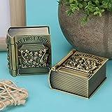 Forme de livre magique, élégant et confortable, boîte de souvenir de dent de bébé de personnalité créative, étui à bibelots, pour la décoration pour le stockage des bébés filles garçons