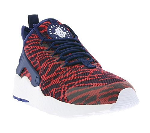 Nike Damen W Air Huarache Run Ultra KJCRD Fitnessschuhe, Blau/Rot (Loyal Blue University Red), 38.5 EU