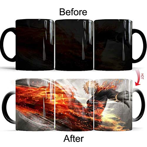 One Piece Luffy Wickelbecher Heat-Sensitive Reactive Ceramic Cup Coffee Mug