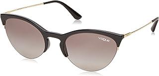 VO5287S Cat Eye Sunglasses, Black/Grey Gradient, 54 mm