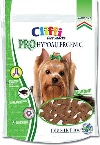 PRO HYPOALLERGENIC Biscotti per Cani monoproteici al Salmone Snack ipoallergenici per cani 100g