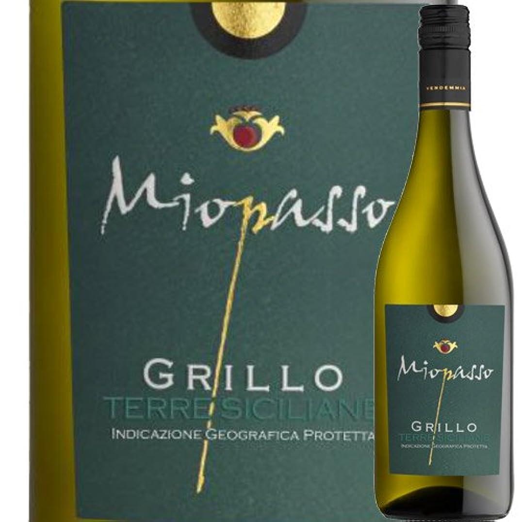 ミオパッソ?グリッロ ワイン?ピープル 2017年 イタリア シチリア 白ワイン 辛口 750ml