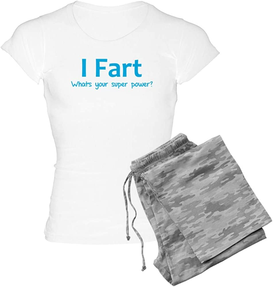 CafePress I Fart NEW before selling ☆ - What's Women's Power? PJs Popular Your Super