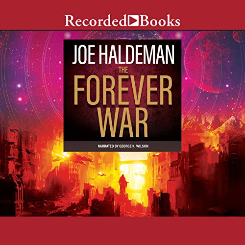 The Forever War audiobook cover art
