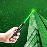 CWZY Hunting High Power Adjustable Focus Burning Green Light Tactical Flashlight Continuous Line Sunlight 500 to 10000...