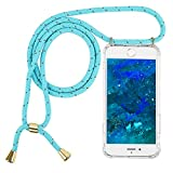 Imikoko Handykette Hülle für iPhone 6/6S Necklace Hülle mit Kordel zum Umhängen Silikon Handy...