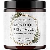Mentholkristalle 100g von Nordic Pure | Premium Qualität für die Sauna | Kristalle aus Menthol für Saunaaufgüsse | 100% natürliche Inhaltsstoffe
