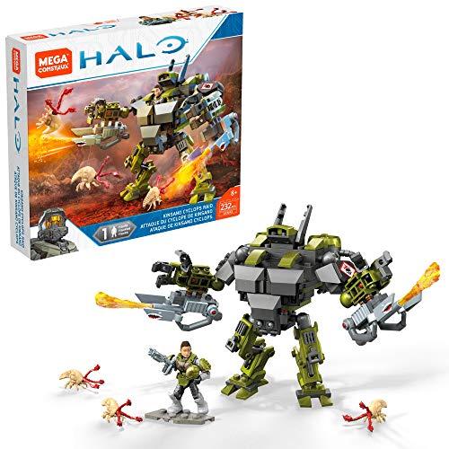 Mega Construx Halo Kinsano Cyclops Raid