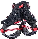 Wxnnx Ragazzi Ragazzi Ragazze Salta Scarpe Scarpe da Rimbalzo, Stivali da Corsa antigravità, Scarpe da Salto Fitness Unisex Scarpe da Rimbalzo,A,30~32