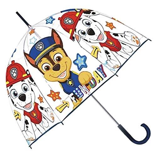 Acan Paraguas Infantil Paw Patrol 68 X 69 cm Color Azul