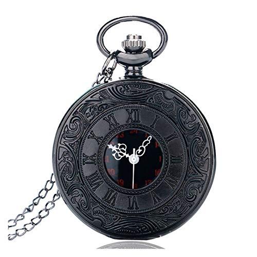 Reloj de bolsillo DUAL PANTALLA CLAMSHELL ROMA VIEJA VIEJA IMITACIÓN HOLDICA MÉRICA MÉRNICO UNISEX HOMBRES MUJERES RELOJ DE PESTORIO DE CUARTZ STAMEPUNK PENDIENTE VINTAGE Vacaciones, regalo de cumplea