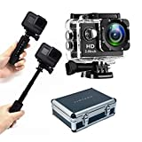 LPX-16 'Explore' Tough Package | Stunning 16MP 4K HD WIFI Waterproof Sports Action