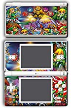 Legend of Zelda Link Wind Waker Stained Glass Video Game Vinyl Decal Skin Sticker Cover for Nintendo DS Lite System