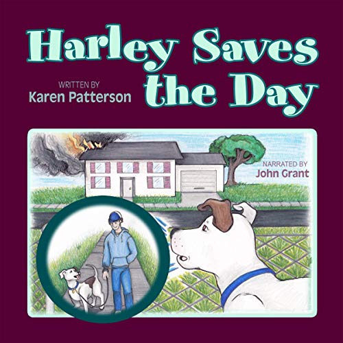 Harley Saves the Day Audiobook By Karen Patterson cover art