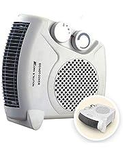 AcornSolution Electric Fan Heater, Portable 2KW Fan Heater with Adjustable Thermostat (Fan Heater)